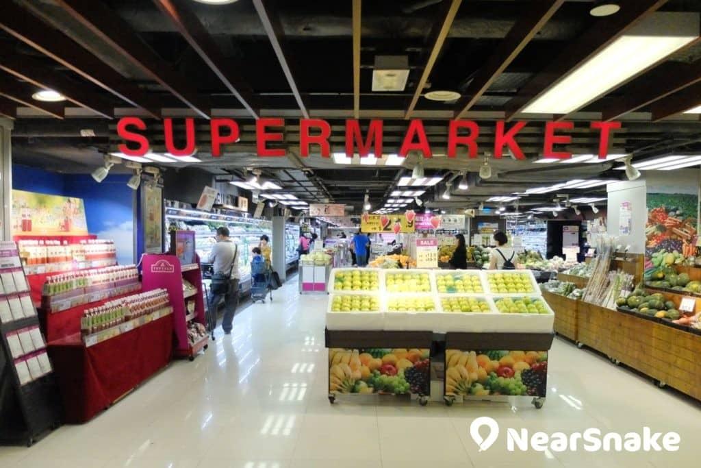 九龍城廣場 AEON 超市位於商場 3 樓,供應五花八門的日本原產貨品。
