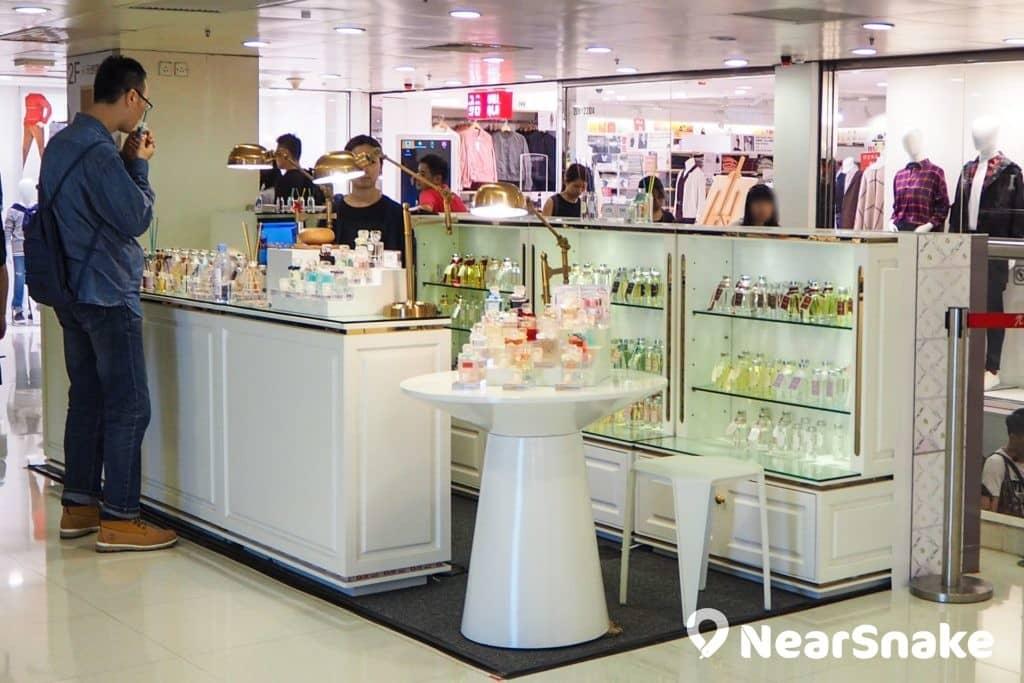 元朗廣場內的 Pop-up Store 會不定期更新,為顧客帶來新鮮感。