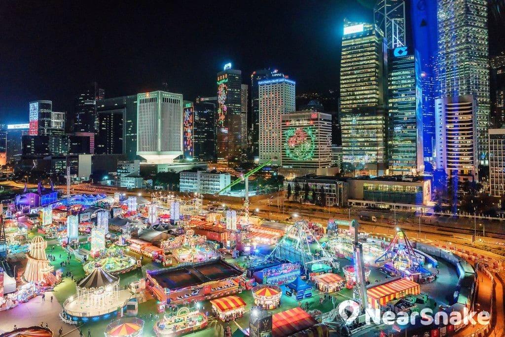 AIA 友邦歐陸嘉年華 2018/2019 將陪伴香港人與遊客度過聖誕節與農曆新年。