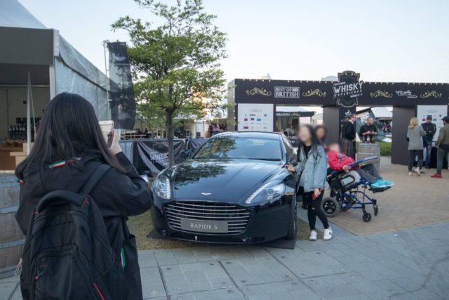 英國文化節現會將會擺放多款復古英國電單車及名車,讓拍照打卡。
