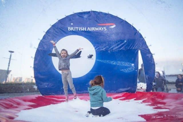 英國文化節 2018 現場會設有多款充氣遊戲,可讓小孩子玩過不亦樂乎!