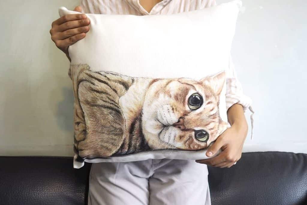 荃新天地 x LOCOLOCO:家作生活・良品市集-「Angeliedesign」全手繪繪畫布袋。