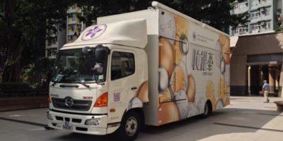 香港18區:收銀車啟動全港回收神沙