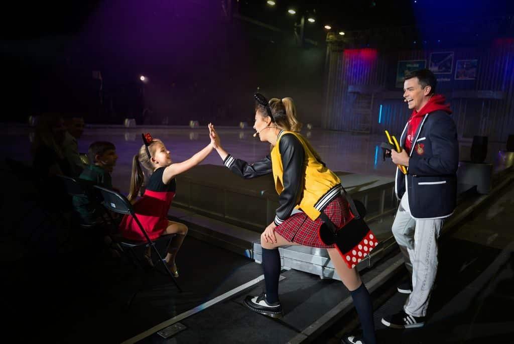 《冰上迪士尼》大型冰上匯演,誠意向華特•迪士尼及其最原創、最具代表性的米奇致敬!配合現場主持人及觀眾的互動環節,帶給各位粉絲最刻骨銘心的親身體驗。