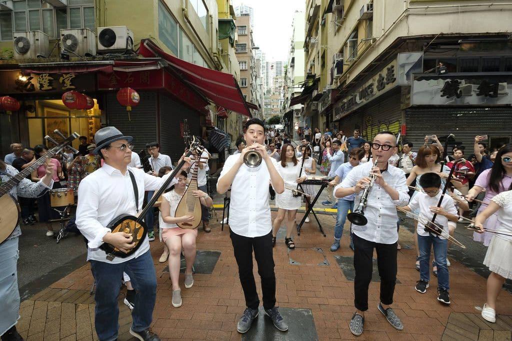 「文物時尚•荷李活道」街頭嘉年華會呈獻一連串結合歷史、文化和藝術的精彩活動。