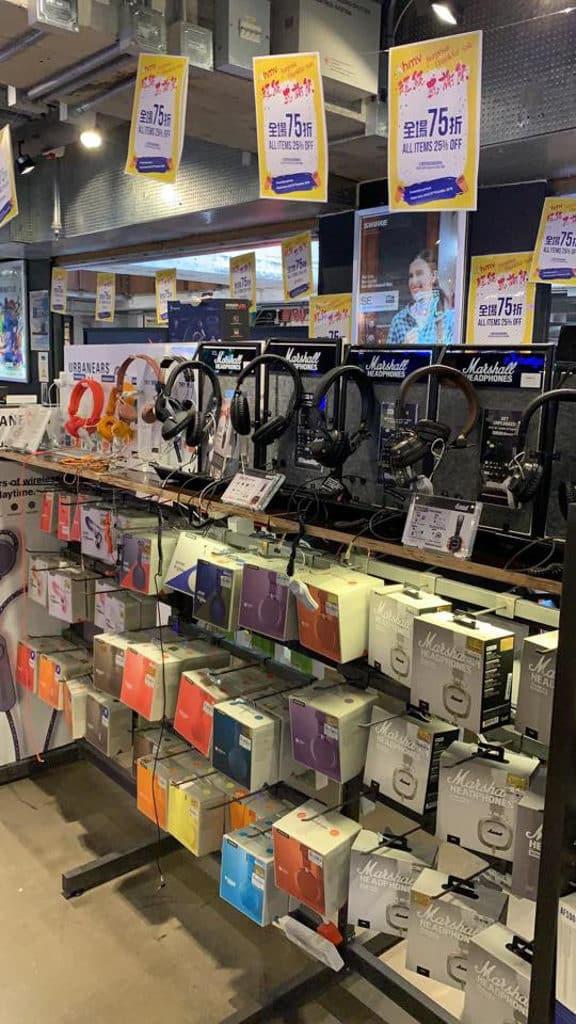 hmv感謝祭2018 耳筒是熱門入手優惠之選