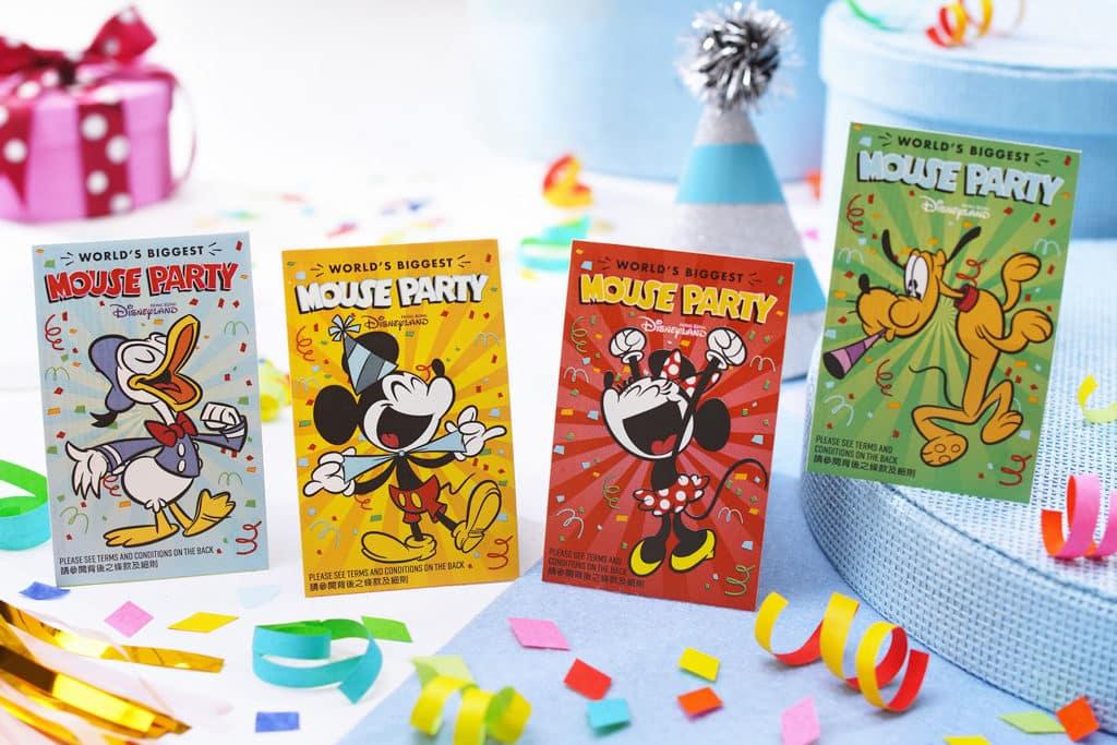 香港迪士尼2019年活動預告 慶典期間會推出以米奇與好友為主題的紀念版樂園門票。
