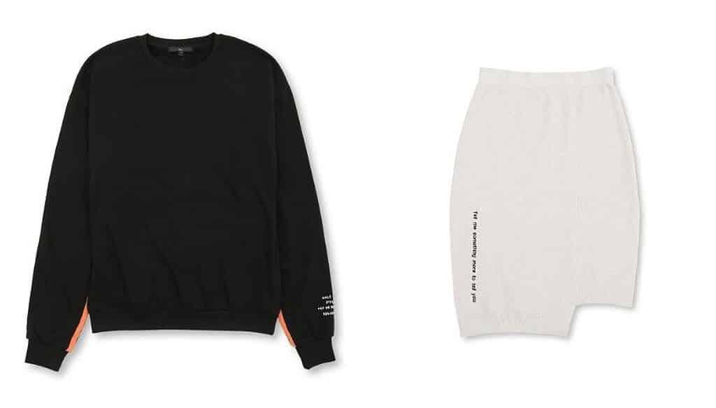5CM 品牌精選男女服裝由港元 $599 減至 $259。