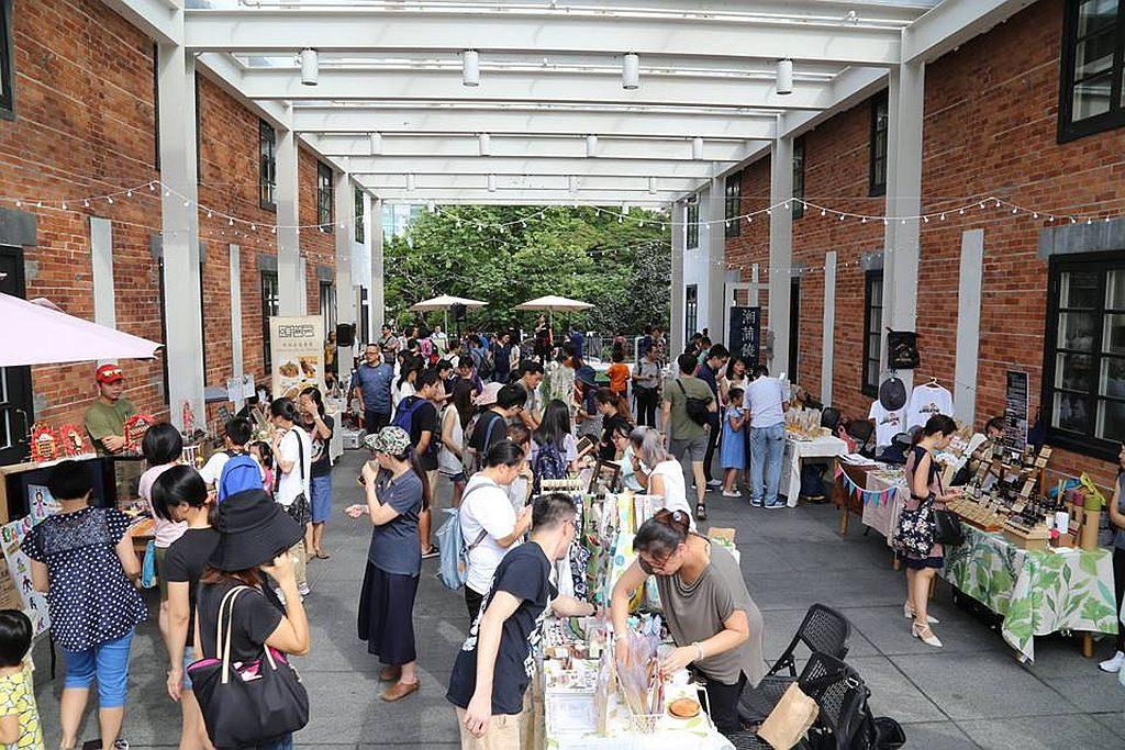 潮蒲饒館 2018 市集讓大家在市集裡交流著手作經驗、技藝與音樂,細味生活的另一種面貌。
