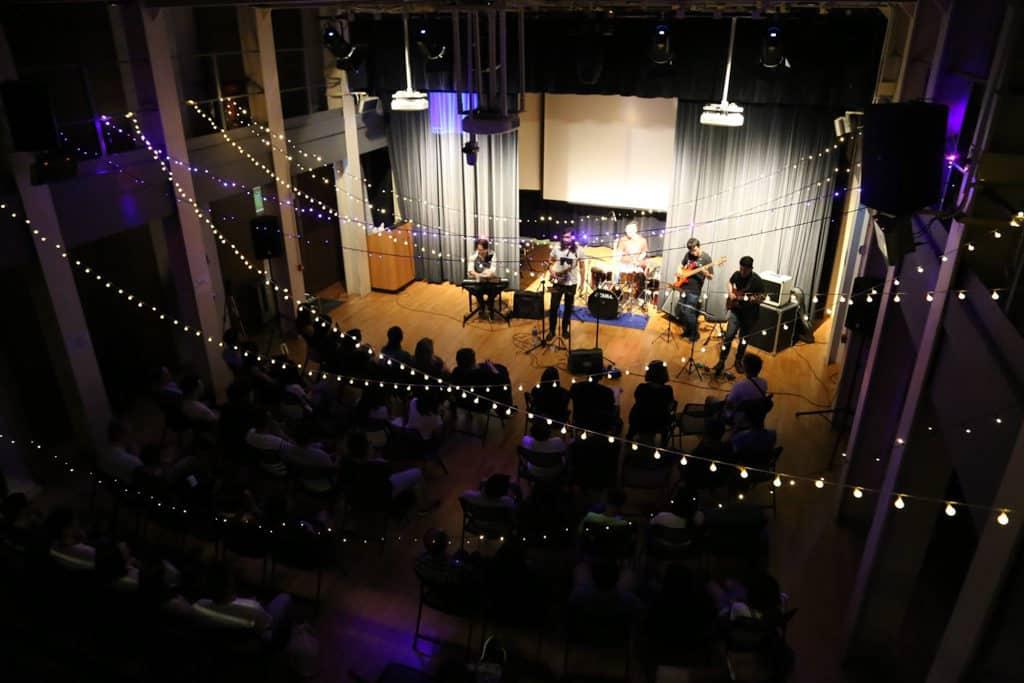 饒宗頤文化館:JTIA Music Festival 饒館音樂節 參加者可在古蹟內感受搖滾樂的強勁節奏。