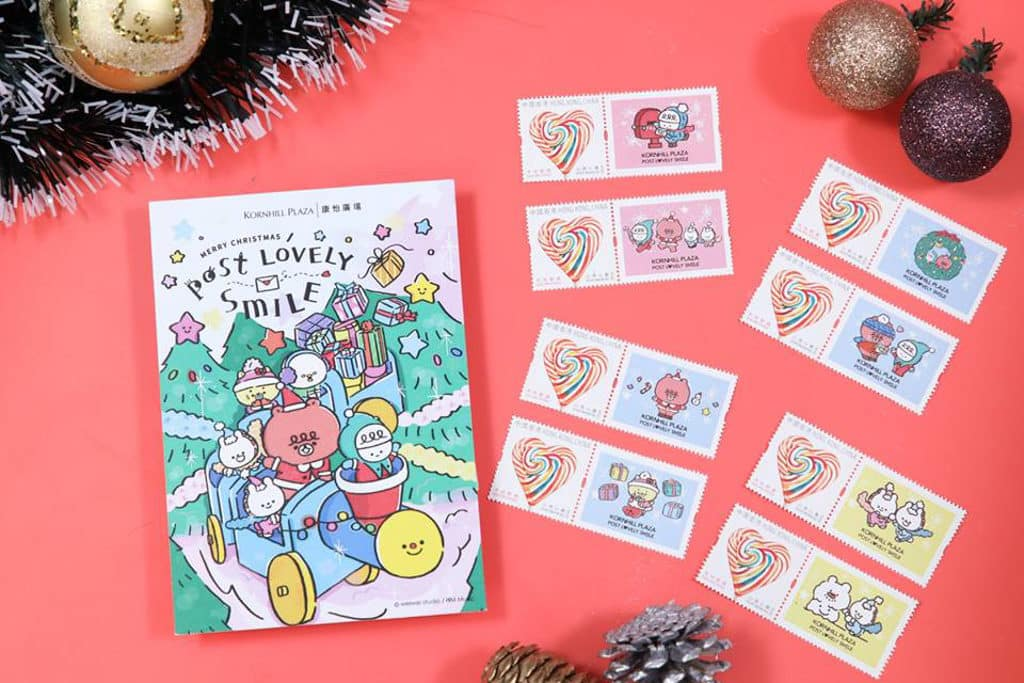 康怡廣場:微笑精靈「喂喂」聖誕傳播快樂因子 微笑精靈「喂喂」名信片及郵票