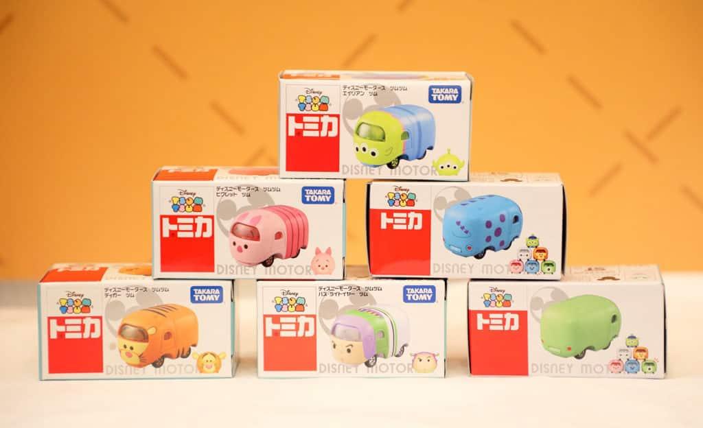 Mikiki 日本名牌玩具小鎮 TOMICA 玩具車 $100 任選 3 架。