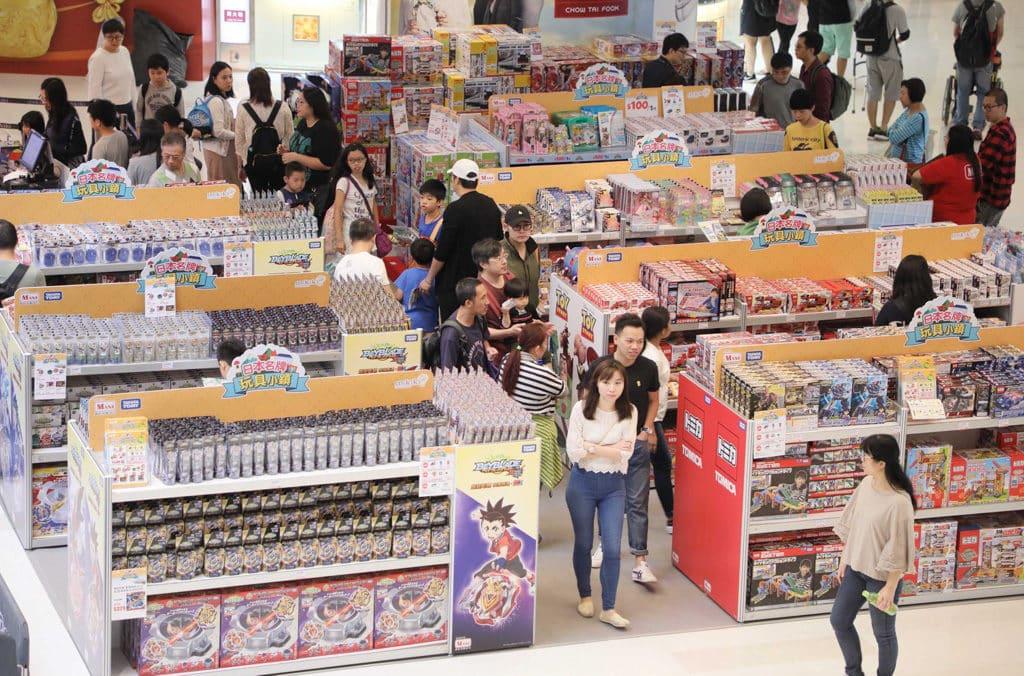 Mikiki 日本名牌玩具小鎮 Mikiki 「日本名牌玩具小鎮」舉行期間,大部分玩具及精品 1 折起發售。