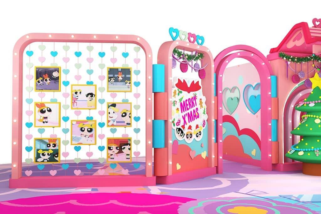 Power Up 聖誕小屋:飛天小女警角色畫廊。