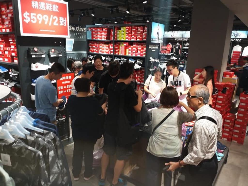 杏花新城:「一人一對經典波鞋」展覽 過千款貨品以低至 2 折及$99 均一價發售。