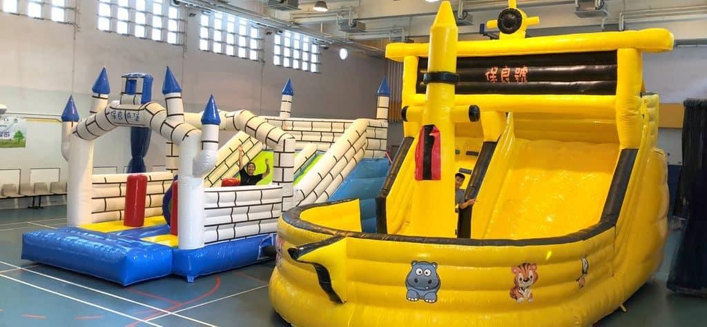 「保良局140周年服務巡禮」有小孩大小肌測試/玩具車/幼兒科創藝術/大型滑梯/腳踏車飄移/幼稚園精選親子遊戲。