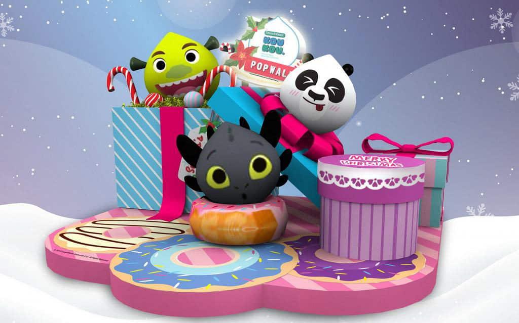 PopWalk天晉滙:聖誕甜品夢工場 夢工場(DreamWorks)動畫電影一班角色將駕臨PopWalk。