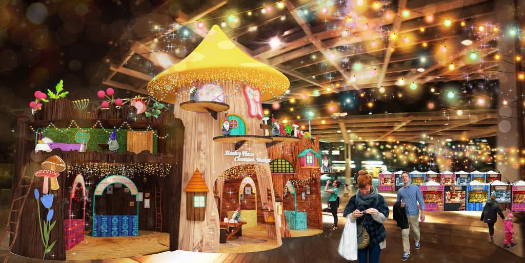 赤柱廣場聖誕市集2018:芬蘭神話·精靈主題市集 赤柱廣場聖誕市集再度以北歐國家芬蘭為主題。