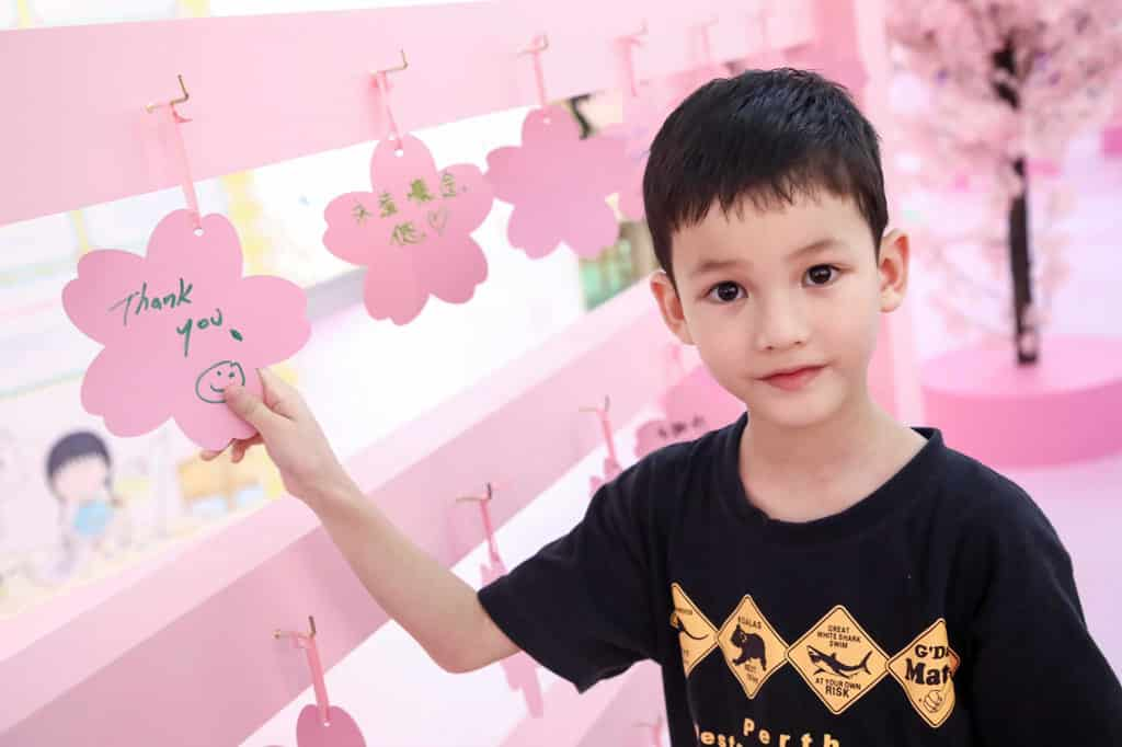 皇室堡:「櫻桃子老師‧感謝您」活動 櫻桃小丸子陪伴一代又一代孩童成長。