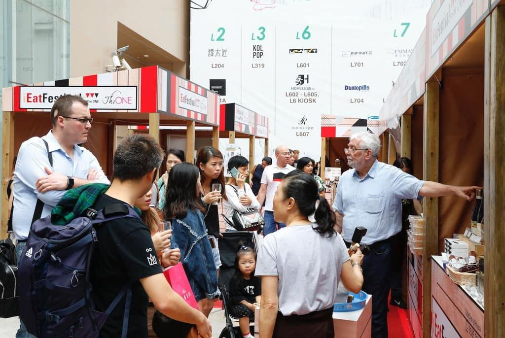 The ONE尖沙咀:「環球美食iEat Festival」美食市集 美食檔採用美式簡約工業風。