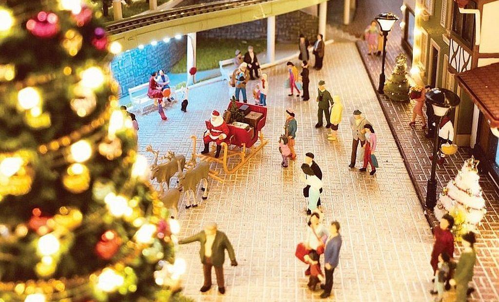 時代廣場:「微妙聖誕」微縮模型展覽 專題圖片