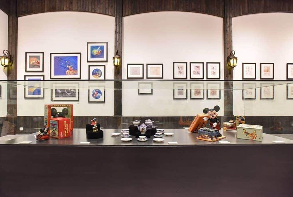 時代廣場米奇 90 周年展覽上將會展出 90 件華特迪士尼檔案館珍藏品,當中約 20 件更是首度公開展出。