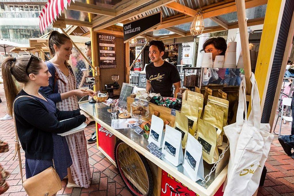 糖廠街市集 11 月主題是「咖啡節」,帶來 20 個來自本地及海外知名咖啡店的出品。