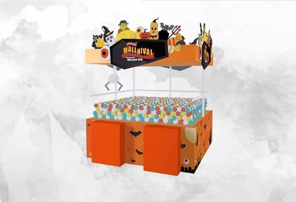 黃埔新天地舉行之「狂歡萬聖哈囉喂」共有 6 款攤位遊戲,以及 5 款經典遊戲。