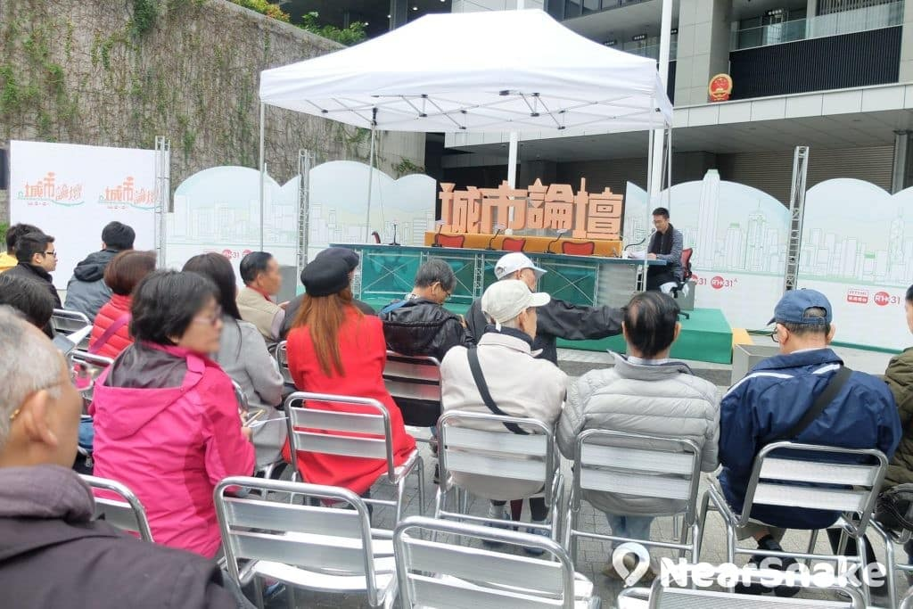 在公民廣場重開後,《城市論壇》也曾移師至此舉行。