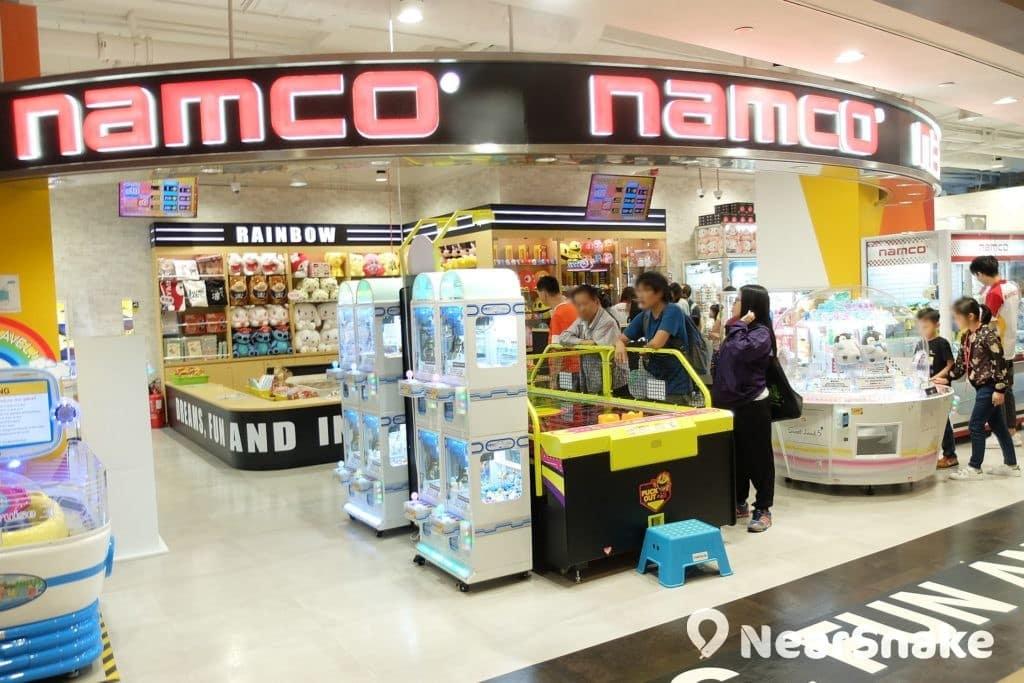 杏花新城 Namco 佔地其實不算很大,但勝在遊戲款式頗多,足夠讓小朋友玩上半天。