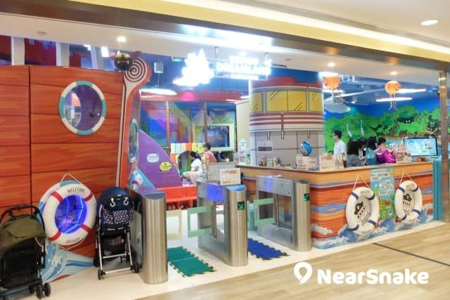 杏花新城另一室內兒童遊戲場 Dreamland Playground,設有學習區,可說是寓遊戲於學習中。
