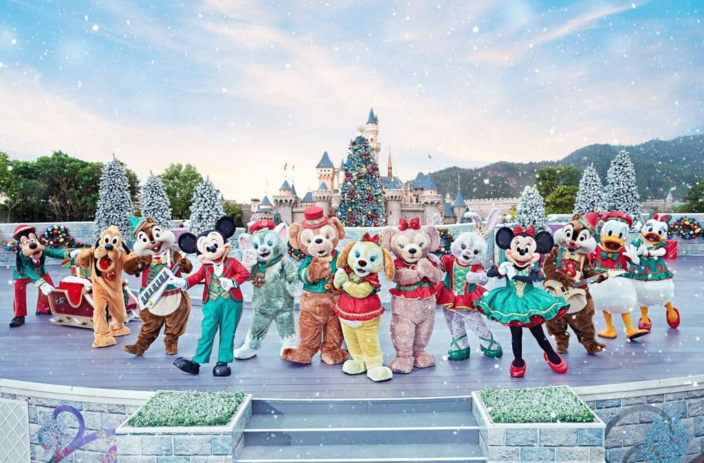 香港迪士尼聖誕節2018:A Disney Christmas 米奇與好友聖誕舞會