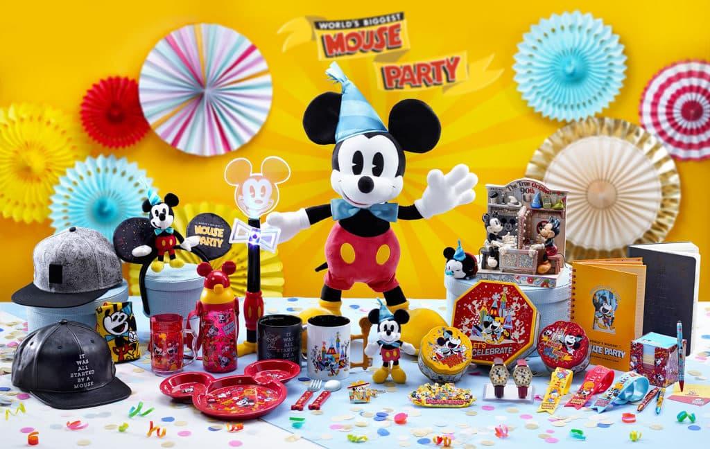 香港迪士尼聖誕節2018:A Disney Christmas 米奇主題生日禮品