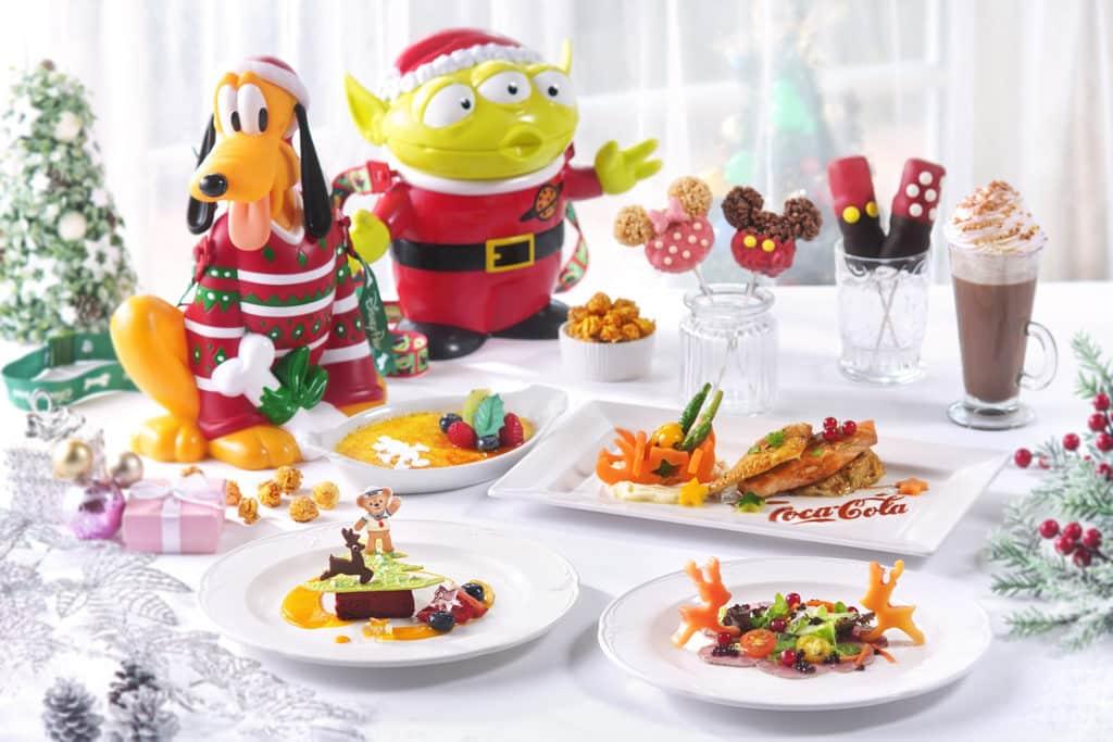 香港迪士尼聖誕節2018:A Disney Christmas 迪士尼推出一系列聖誕套餐、小食和甜品。