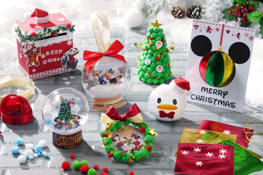 香港迪士尼聖誕節2018:A Disney Christmas 酒店賓客可參加不同的手工藝創作活動。