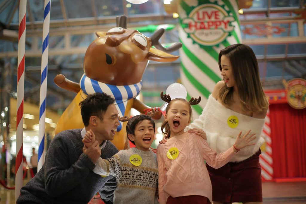 太古城中心:哈鹿聖誕 太古城中心推出「哈鹿聖誕」主題活動。