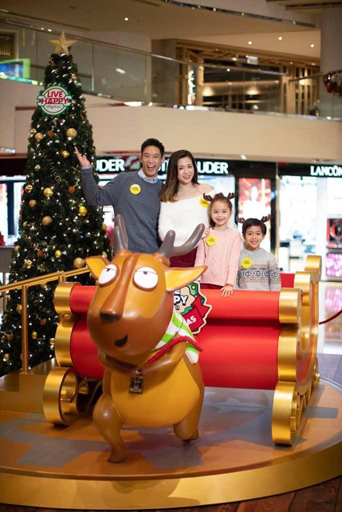 太古城中心:哈鹿聖誕 糊塗傻氣的哈鹿陪大家過今個聖誕。