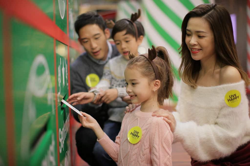 太古城中心:哈鹿聖誕 慢遞明信片可交由哈鹿慢步派送。