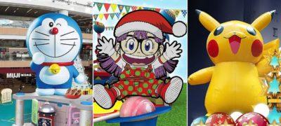 【聖誕節好去處2018】香港16個卡通主題聖誕商場結集:多啦A夢•Pokemon•IQ博士