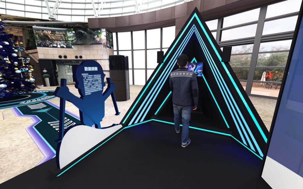 數碼港商場:「聖誕特工學園」虛擬世界任務大挑戰 極地滑雪障礙賽
