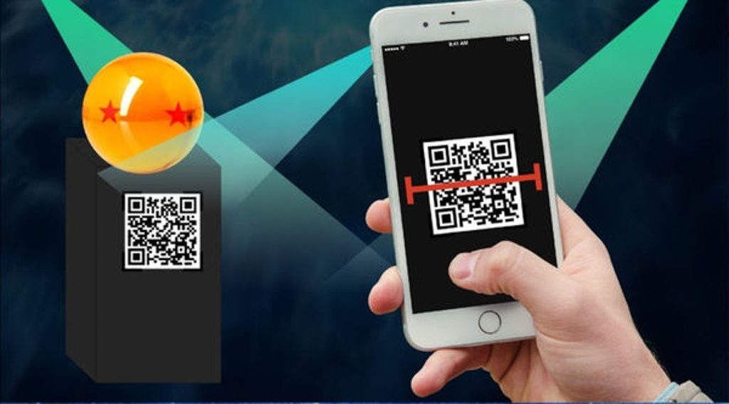 數碼港商場:龍珠超體感互動藝術展展覽 掃描 QR Code 即可獲得該龍珠。
