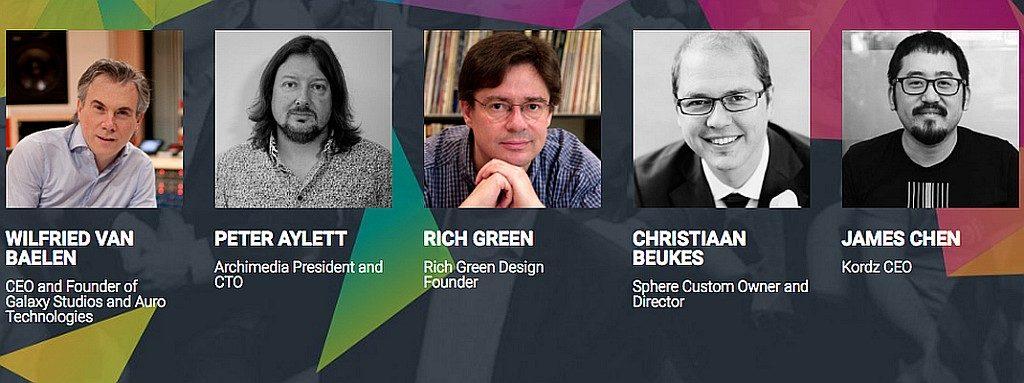 Wilfried Van Baelen、Peter Aylett、Rich Green、Christiaan Beukes、James Chen 等頂尖視聽科技專家 將出席香港影音玩樂展 2018。