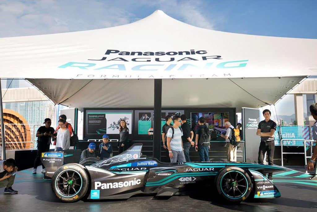 Formula E Hong Kong 2019|電動方程式賽車2019 觀眾有機會近距離欣賞電動車的風采。