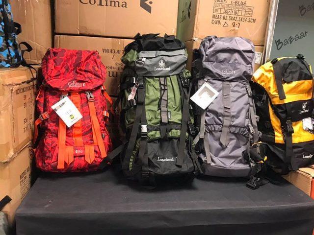 馬拉松聖誕開倉會有多款 CoTima 背包可供選購。