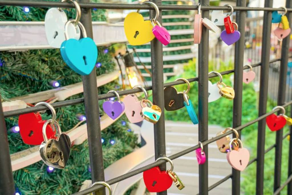 海港城聖誕2018:Christmas Treasures 慈善義賣「Love Lock」