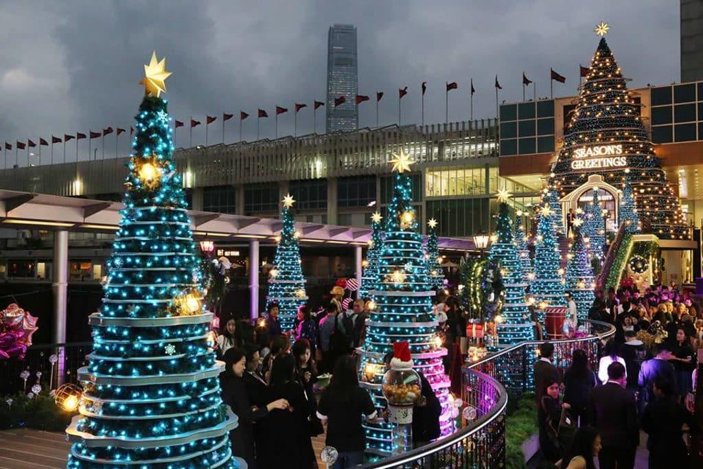 海港城聖誕2018:Christmas Treasures 到海港城欣賞聖誕燈飾已成為不少人的年度活動。