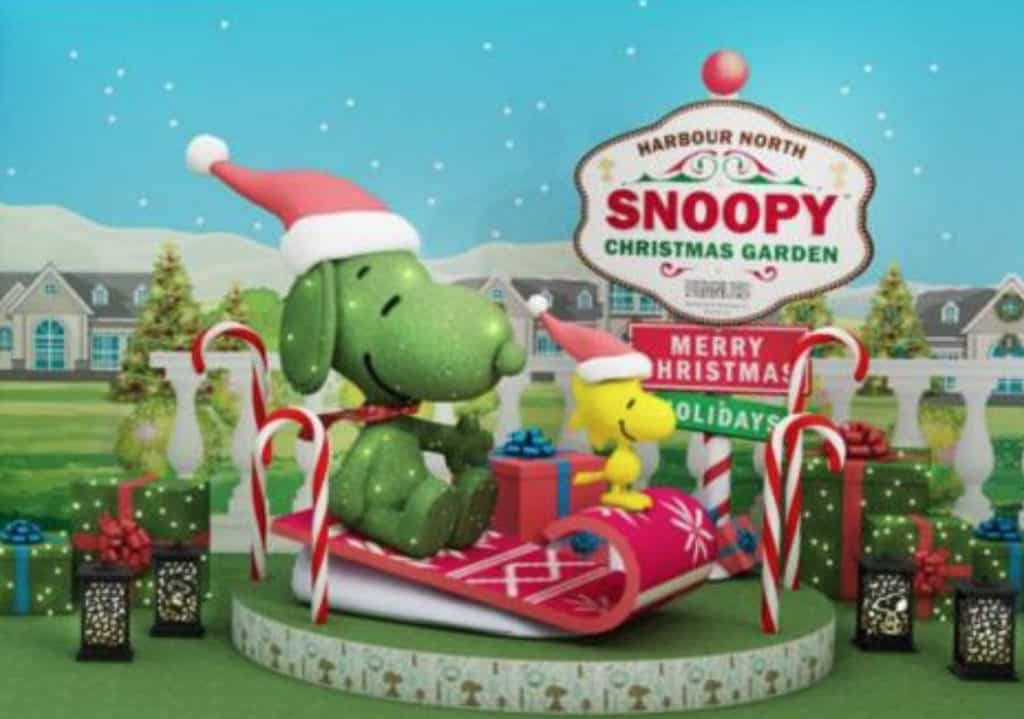 北角匯Harbour North:Snoopy Christmas Garden