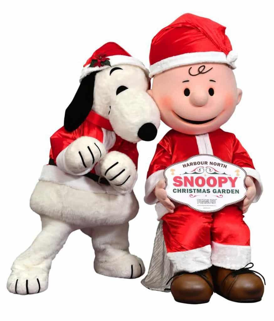 北角匯Harbour North:Snoopy Christmas Garden 北角匯今個聖誕聯乘《花生漫畫》舉辦聖誕主題活動。