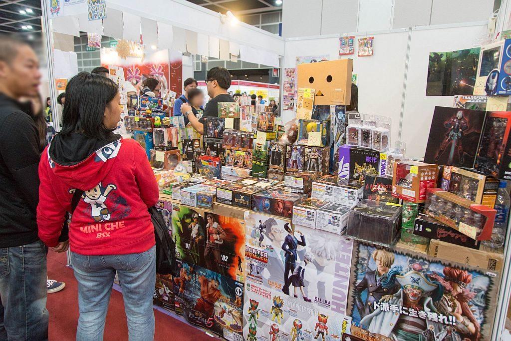 冬季玩具博覽 2018 會場上亦有各款模型玩具,可滿足童心未泯成年人的需求。