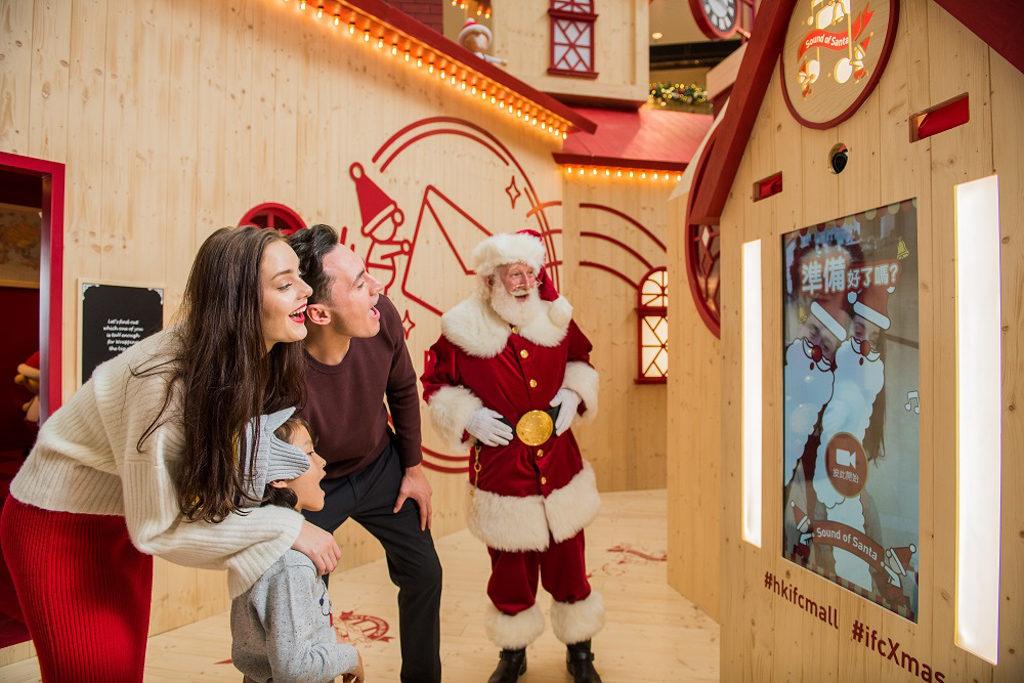 ifc 商場在 2018 聖誕節期間將變身成充滿北歐氣氛的聖誕老人學院「Santa Academy」。 聖誕老人HoHoHo